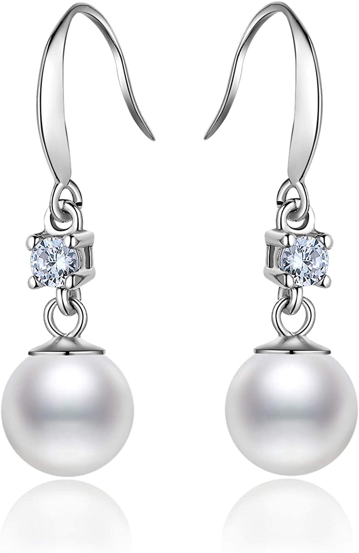 SALE+Ohrringe Ohrstecker  925er Sterling Silber mit Süßwasser Perlen AAA+SALE