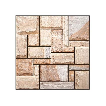 3d Mosaic Tile Sticker Kitchen Bathroom Floor Decor Wall Paper Sticker K Stickers Home Garden