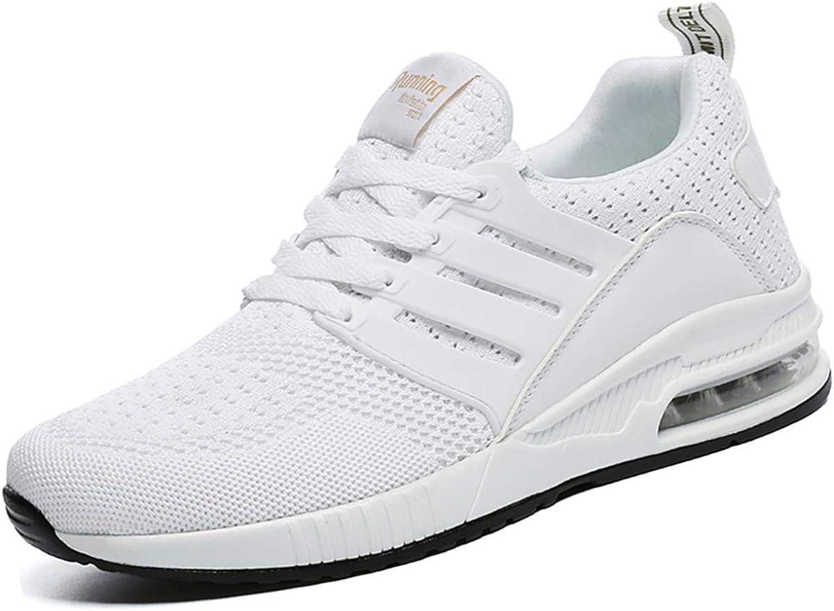 GAXmi Mujer Zapatillas de para Correr Air Cordones Zapatillas Deportivas de Amortiguación Zapatos de Ligero Running Fitness Antideslizantes Sneakers: Amazon.es: Zapatos y complementos