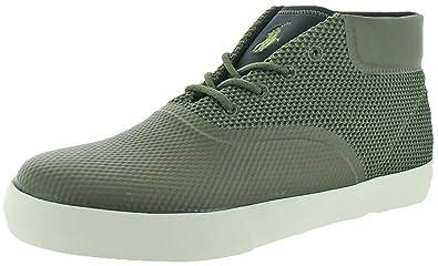 Polo Ralph Lauren Men's Vadik Sneaker, Green, ...