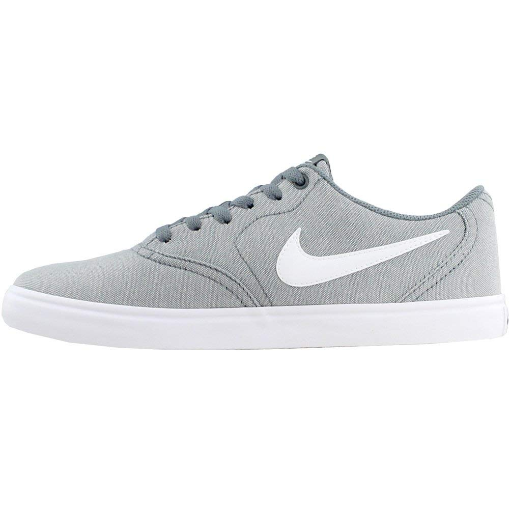 Nike Men's SB Check Solar Canvas, Sneakers, Grey/White, 10 M US by Nike (Image #4)