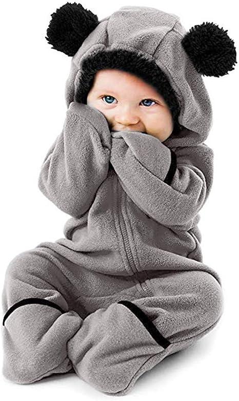 Dezzert030 Baby Langarm Onesies Harley Sch/ädel Bodysuit Baumwolle Kleinkind Strampler Outfits f/ür Jungen M/ädchen