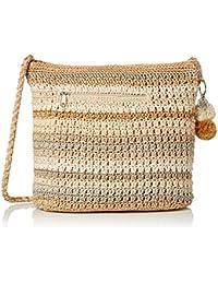 Greenwood Hobo Bag, Sand Stripe