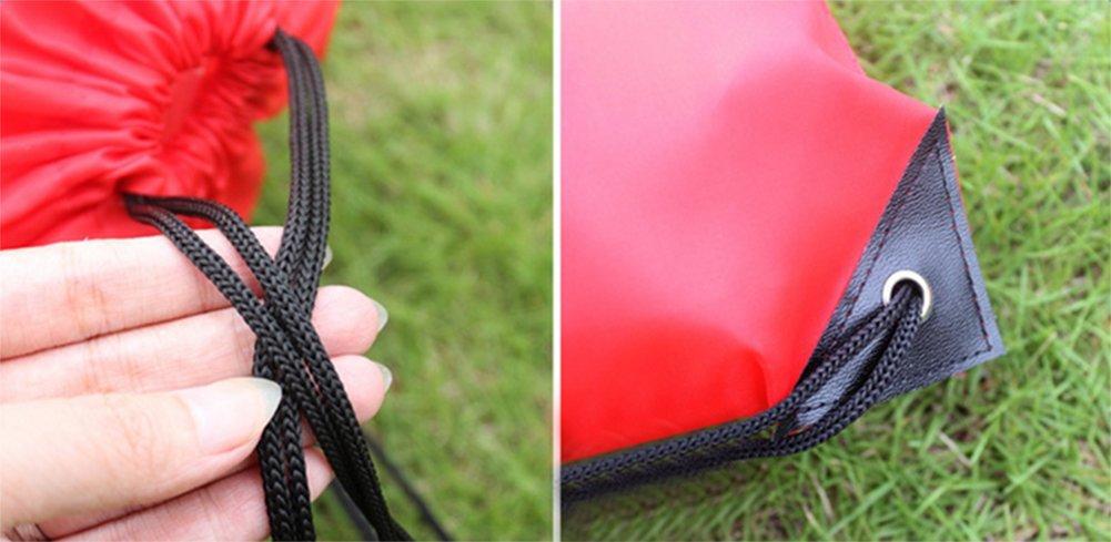 Da.Wa Mochila Saco o de Cuerdas Impermeable del Lazo del Ocio Mochila de Viaje del Bolso Deportes//Gimnasio Bolsas Azul