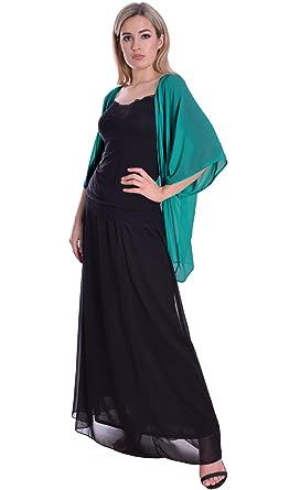 Eleganter Sommer Chiffon Bolero Cardigan zum Abendkleid Kimono Stil ...