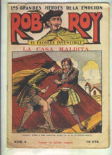 Rob Roy numero 4: La casa maldita Textbook Binding – 1930
