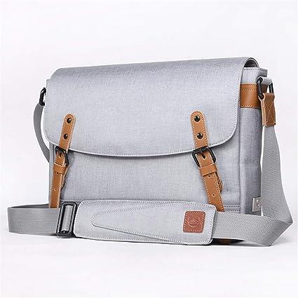 d86bd7c95ac0 Amazon.com: Men's Messenger Bag Antique Waterproof Material Nylon ...