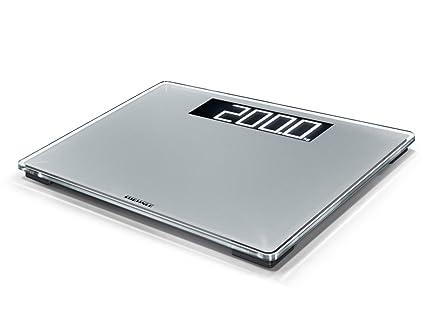 Soehnle Style Sense Comfort 600 - Bascula de bano, color plata