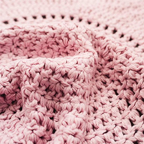 Blankets Bedding Nordic Round Corchet Wool Knit Blanket Handmade Floor Carpets Knitted Area Rug Childrens Room Decoration Mats Photography Props