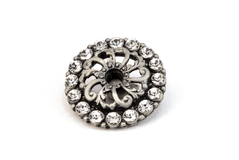 Carpe Diem Hardware 884-9C Cache Chalice Escutcheon with Swarovski Crystals