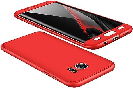 cover samsung s7 edge rossa
