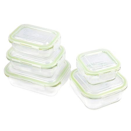 zenware 10 piezas se puede usar en microondas recipiente para ...
