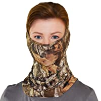 Colosseum Outdoors Realtree Unisex Multi-use Washable Poly Spandex Gaiter Face Mask Neck and Head Cover
