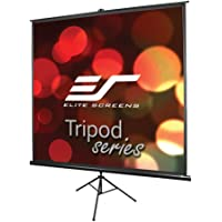 Elite Screens Tripod, 71-inch, Adjustable Multi Aspect Ratio Portable Pull Up Projection Projector Screen, T71UWS1
