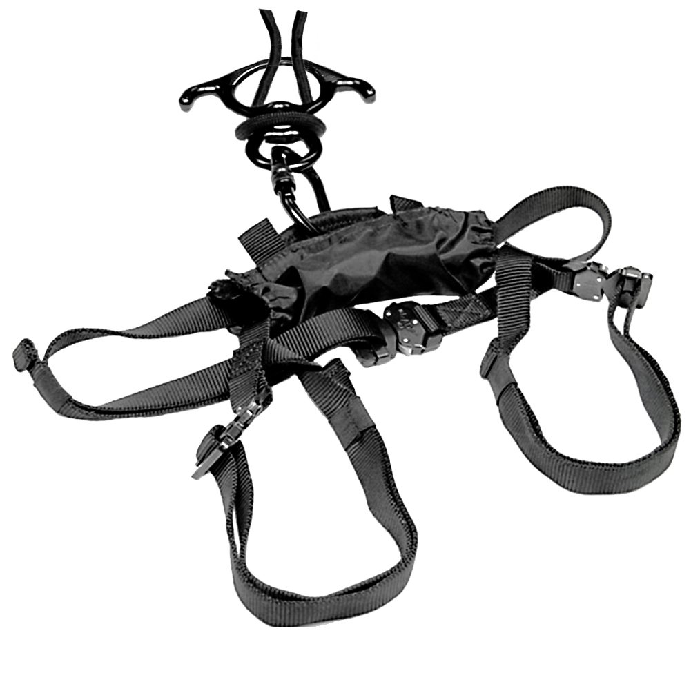 Fusion Climb RP-107-C-50 Police Tactical Interceptor Rappel Kit 50' Rope