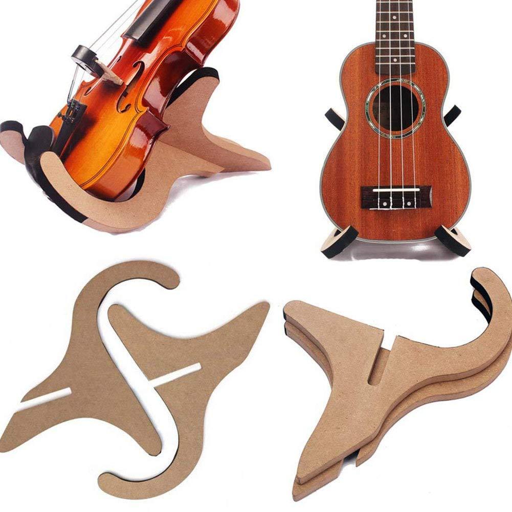 Ukul/él/é robuste pour violon ukul/él/é banjo et violon 19.5 * 23 cm mandoline Support de guitare