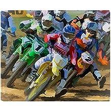 "CafePress - Motocross - Soft Fleece Throw Blanket, 50""x60"" Stadium Blanket"