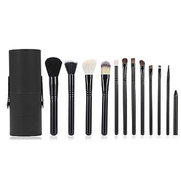 Makeup Brushes, Luxebell 12PCS Benefit Makeup Brush Set Professional Essential Foundation Concealer Brushes Tool Kit
