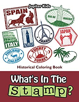 Whats Stamp Historical Coloring Book ebook