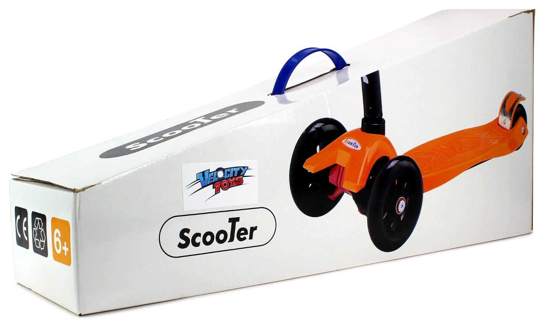 Amazon.com: Velocity Scooters 22 niños Kid s cuatro ruedas ...