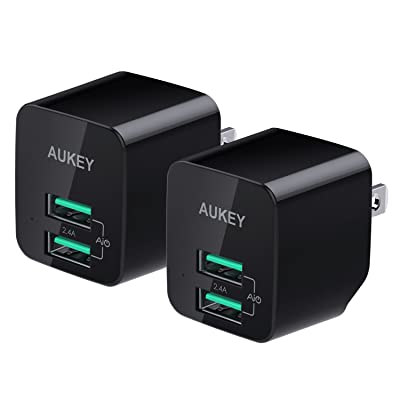 【本日限定・2個セット】AUKEY 超小型2ポートUSB急速充電器 PA-U32 2個セット 税込1,299円 プライム会員送料無料