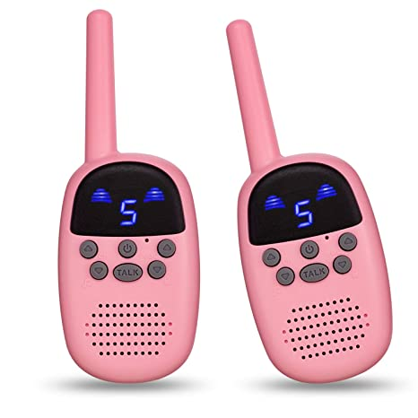 Amazon Com Omzer Walkie Talkies For Kids Fun Gifts For 5 8 Years