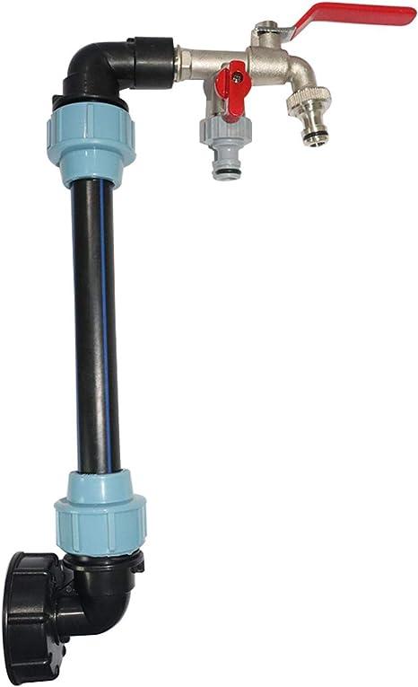 IBC Schwanenhals 3//4 Zoll für IBC Tanks S60x6 Adapter AnschlussRegenwasser