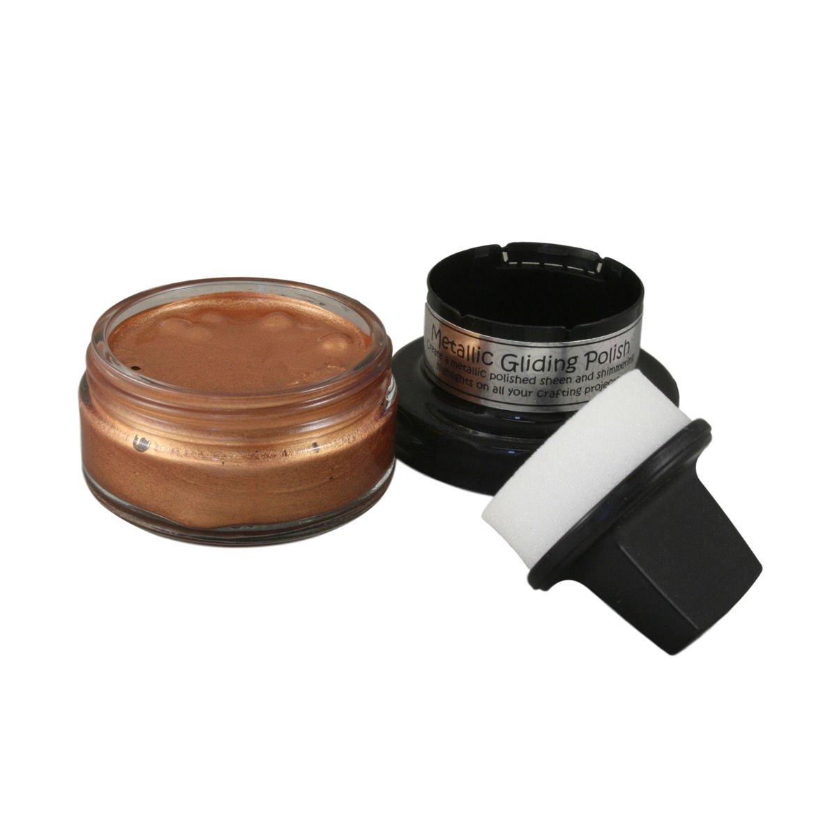 Cosmic Shimmer Metallic Vergoldung Nagellack, Acryl, Kupfer Glanz, 7,5x 6,2x 6,2cm 5x 6 2x 6 2cm Creative Expressions