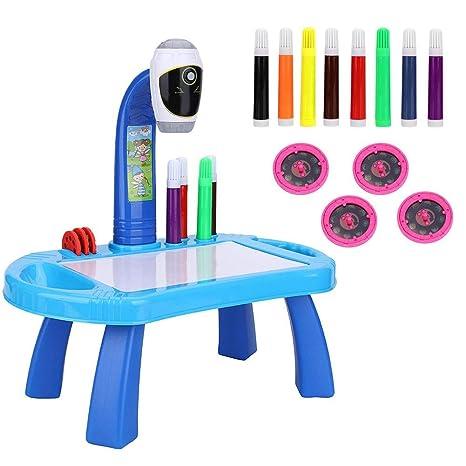 Tavolo Da Disegno Per Bambini Proiettore Set Di Pittura Proiettore
