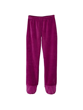 9c87fdfcd9ce6 Vertbaudet Pyjama Velours Fille avec Pieds  Amazon.fr  Vêtements et  accessoires