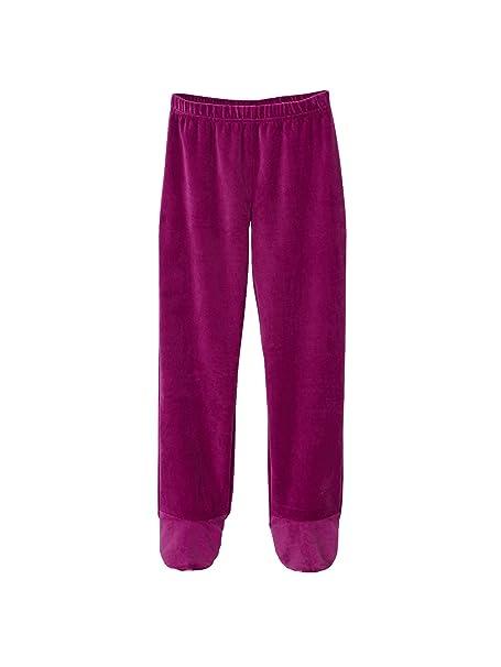 VERTBAUDET Pijama de Terciopelo con pies niña: Amazon.es: Ropa y accesorios