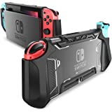 Dockable Case for Nintendo Switch - Mumba [Blade Series] TPU Grip Protective Cover Case Compatible with Nintendo Switch…