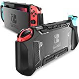 Dockable Case for Nintendo Switch, Mumba [Blade Series] TPU Grip Protective Cover Case Compatible with Nintendo Switch…