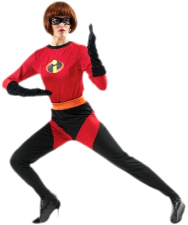Karnevalsbud - Damen Superhero Heldinnen Mrs Incrotible Kostüm, M, Mehrfarbig B074S5R11C Kostüme für Erwachsene Moderne und elegante Mode  | Zart