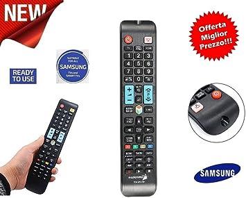 Mando a Distancia Universal para Todos los TV Samsung LCD LED Smart TV 3D Plasma instalación Directa Sin programar: Amazon.es: Electrónica