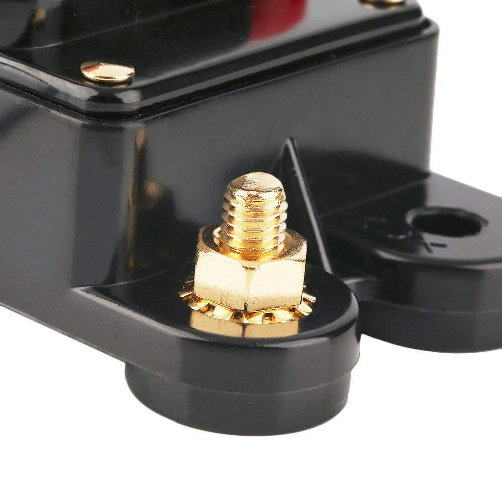 12/V-24/V DC interruttore magnetotermico Trolling Motor auto Car marine Boat Bike stereo audio Inline fusibile inverter impermeabile con ripristino manuale