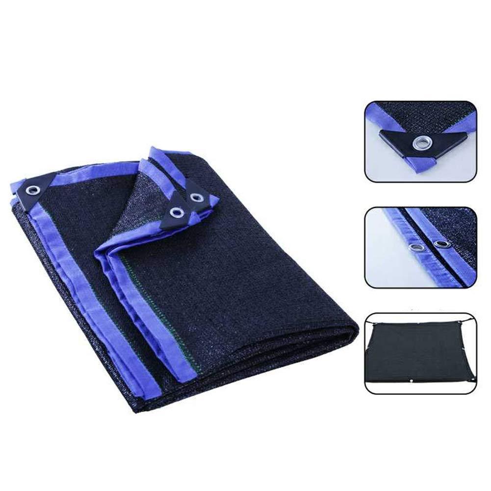 JIANFEI Rete Parasole Serre Antivento Resistente alle Radiazioni A Prova di Vento Giardino Forte Resistenza alla Trazione, 23 Taglie può Essere Personalizzato (colore   Blu, Dimensioni   4x10m)