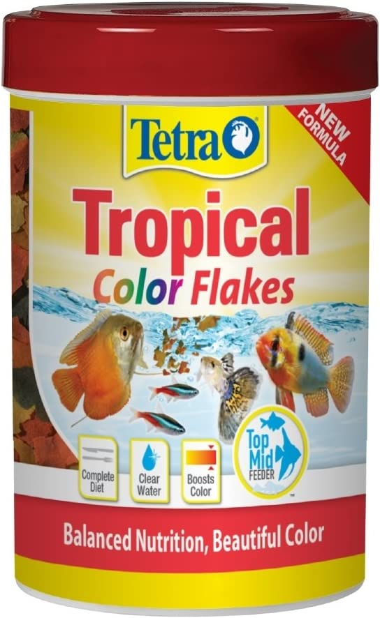 Tetra Tropical Color Flake Fish Food