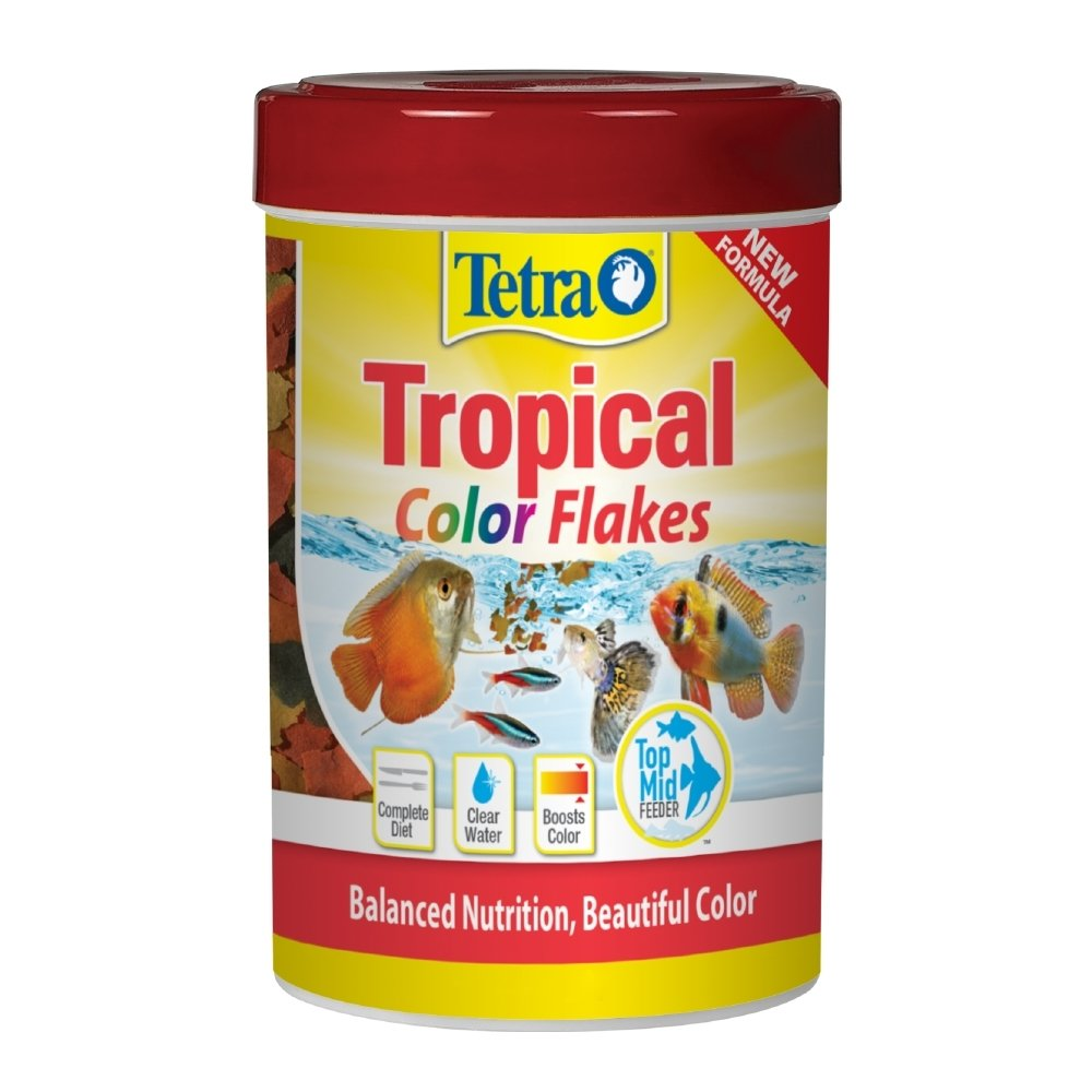 Tetra Tropical Color Flake Fish Food, 84.72 oz