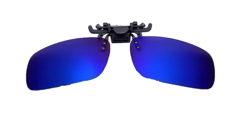 Amazon.com: Polarized Clip On Sunglasses Men Sport Driving ...