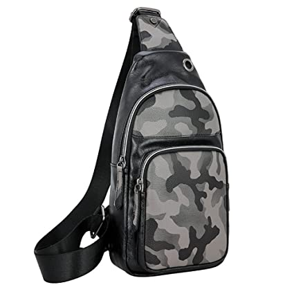 Ybriefbag Outdoor Sports Men s Women s One Shoulder Sling Small Backpacks  Hiking Biking Travel Outdoor Casual Chest 34e194739d530