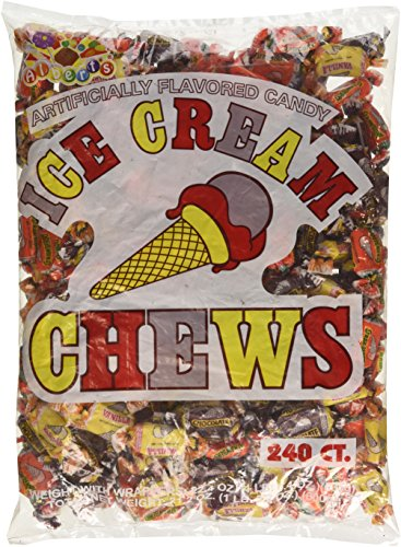 Albert's Chews Ice Cream 240 Piece - Ice Cream Fresh