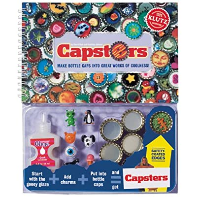 Capsters: Make Bottle Caps into Great Works of Coolness: The Editors of Klutz, Editors Of Klutz: Toys & Games