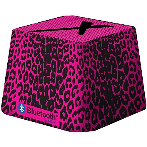 - Xit Audio Bluetooth Wireless Mini Portable Speaker System for iPods, iPhones, iPads, Androids, and MP3 Players (Pink Leopard)