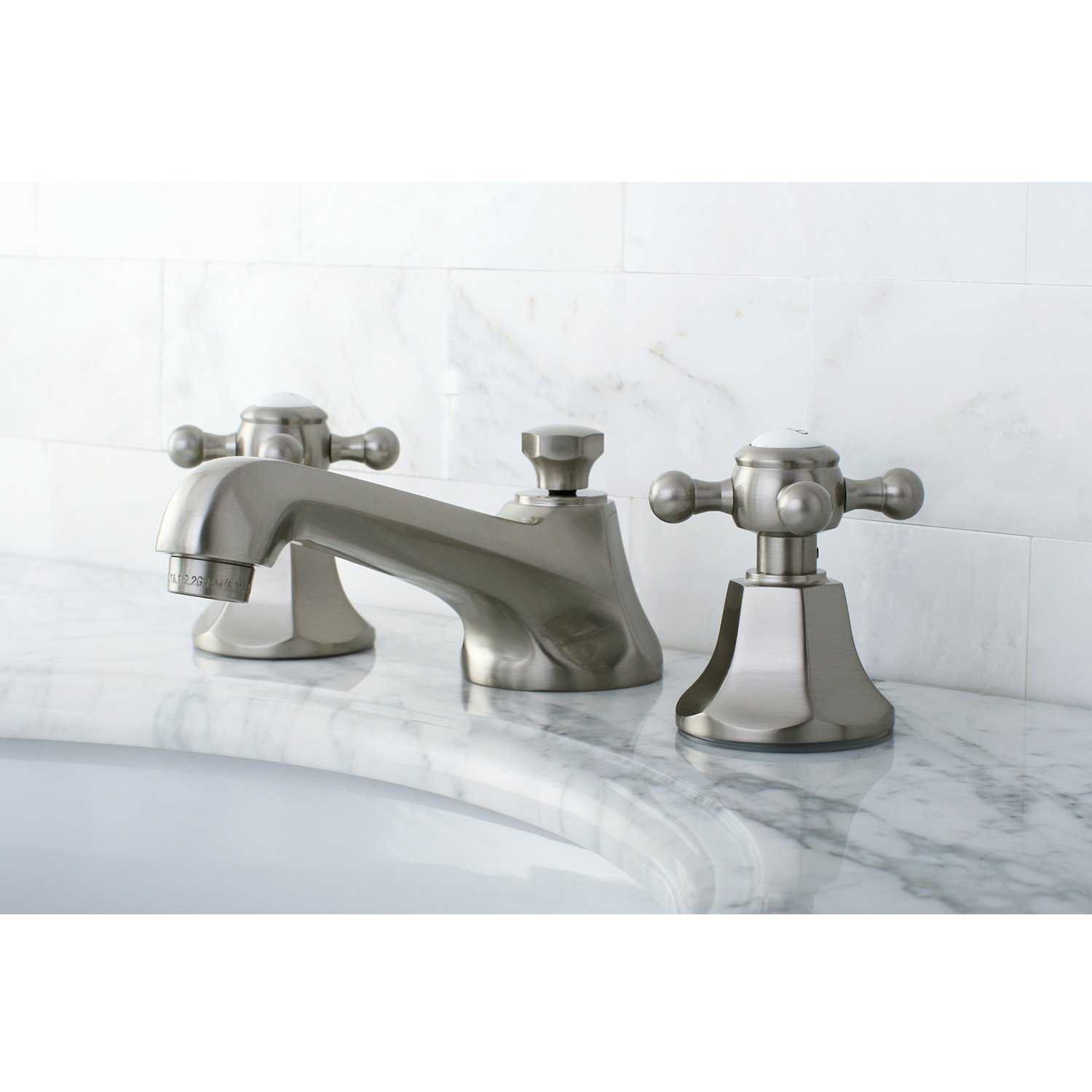 Kingston Brass KS4468BX Metropolitan Widespread Lavatory Faucet with ...