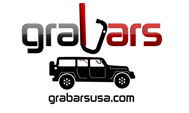 JK 2-Door Front & Back GraBars Set (Includes ORANGE Rubber Grips)