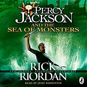 Amazon.com: The Sea of Monsters: Percy Jackson, Book 2 (Audible ...