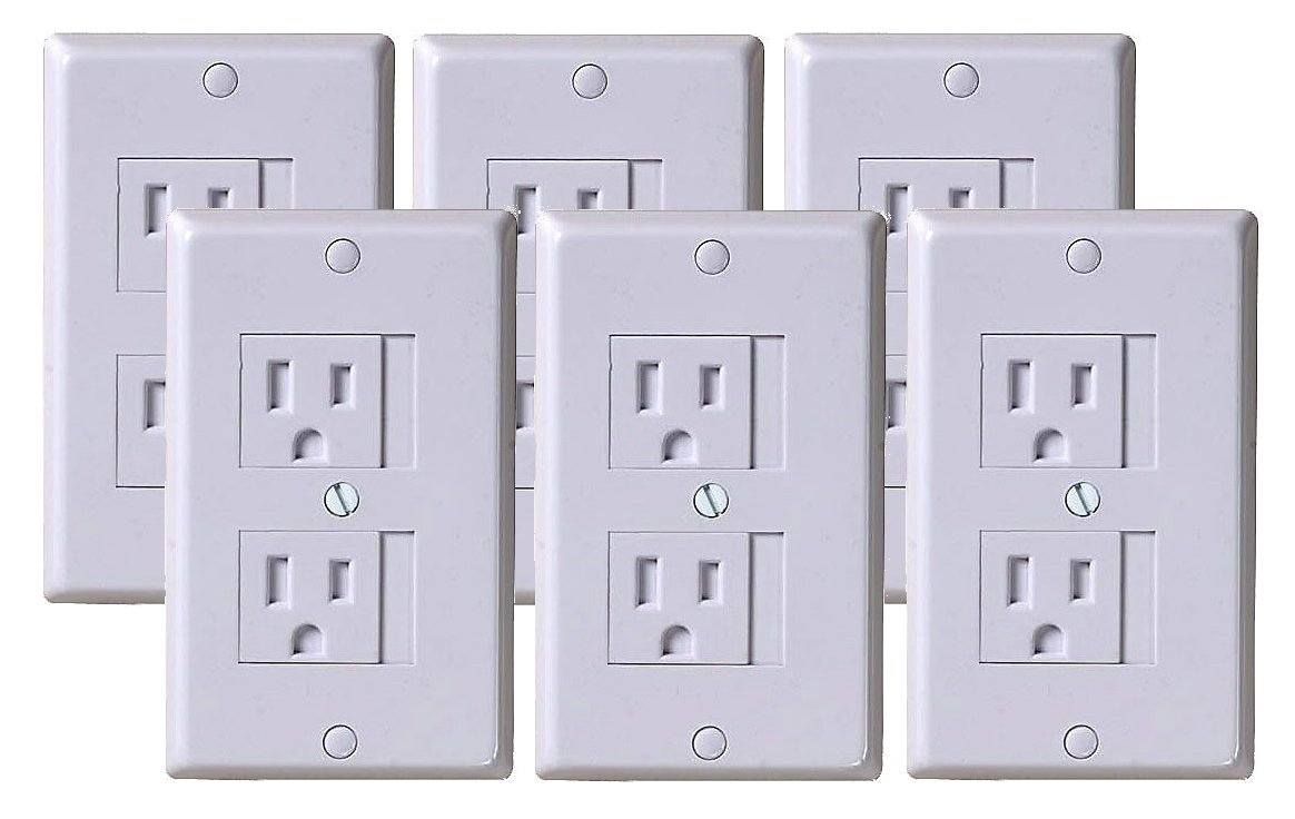 KidCo Universal Outlet Cover, 6 Pack
