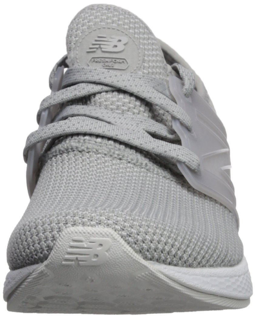 New Balance Women's Cruz V1 Fresh Foam Running Shoe B0751Q92CR 9 B(M) US|Grey/White
