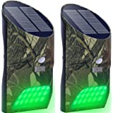 Lilbees Solar Green Feeder Lights with Motion...